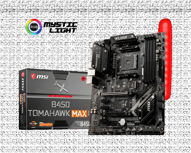 MOTHERBOARD AMD MSI B450 TOMAHAWK MAX 2