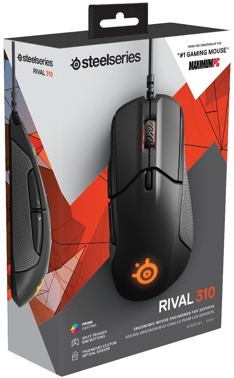 MOUSE STEELSERIES RIVAL 310 TRUE MOVE 3