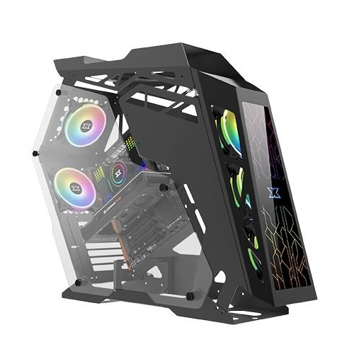 CASE XIGMATEK ATX  ZEUS TG RGB AT120 FANSX3