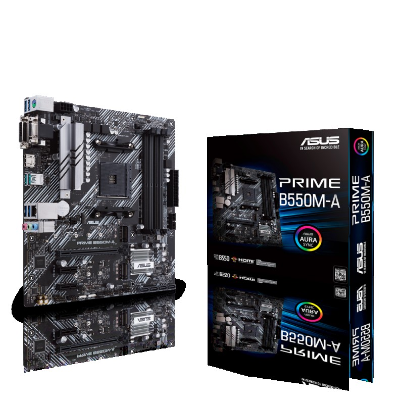 MOTHERBOARD AMD AM4 ASUS PRIME B550M-A MICRO-ATX