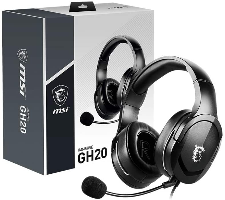 HEADSET MSI IMMERSE GH20 GAMING