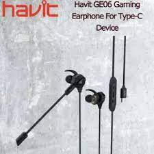 EARPHONES HAVIT GE06 USB TYPE C