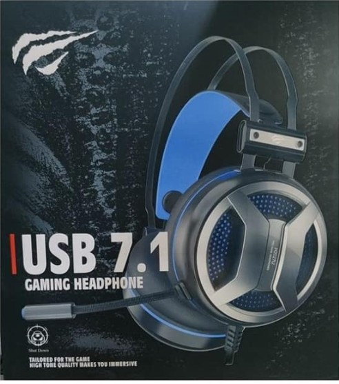 HEADSET HAVIT 7.1 2027 VIBRATION