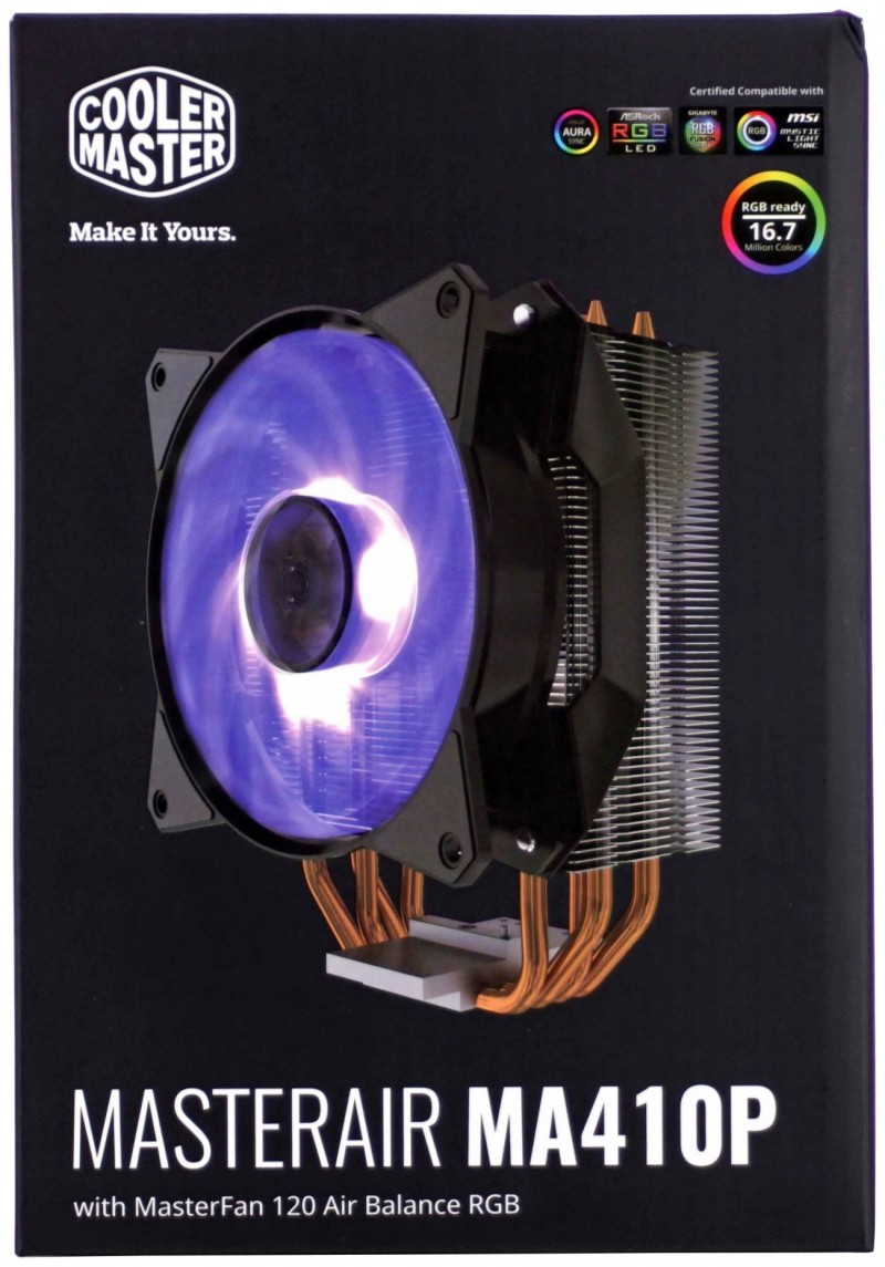AIR COOLING COOLERMASTER MA410P RGB
