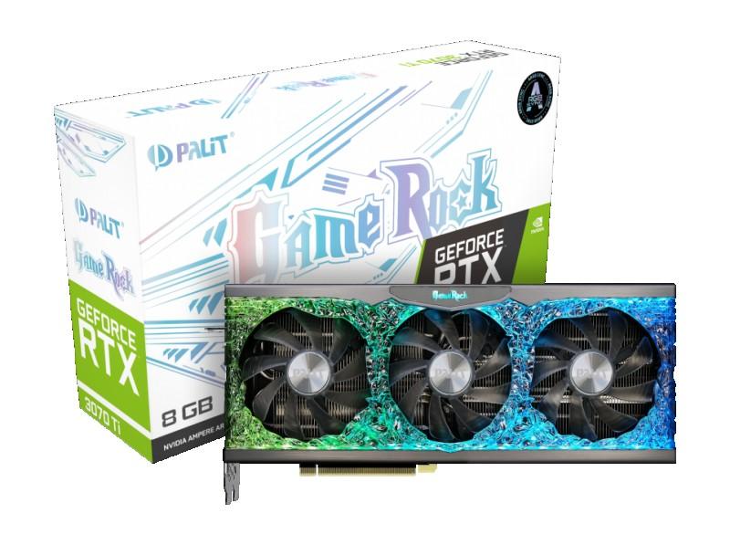 GPU NVIDIA PALIT RTX 3070TI 8GB GAME ROCK
