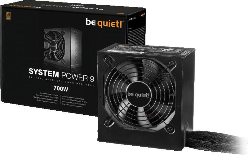 ALIMENTATION BE QUIET 700W SYSTEM POWER 9 BRONZE