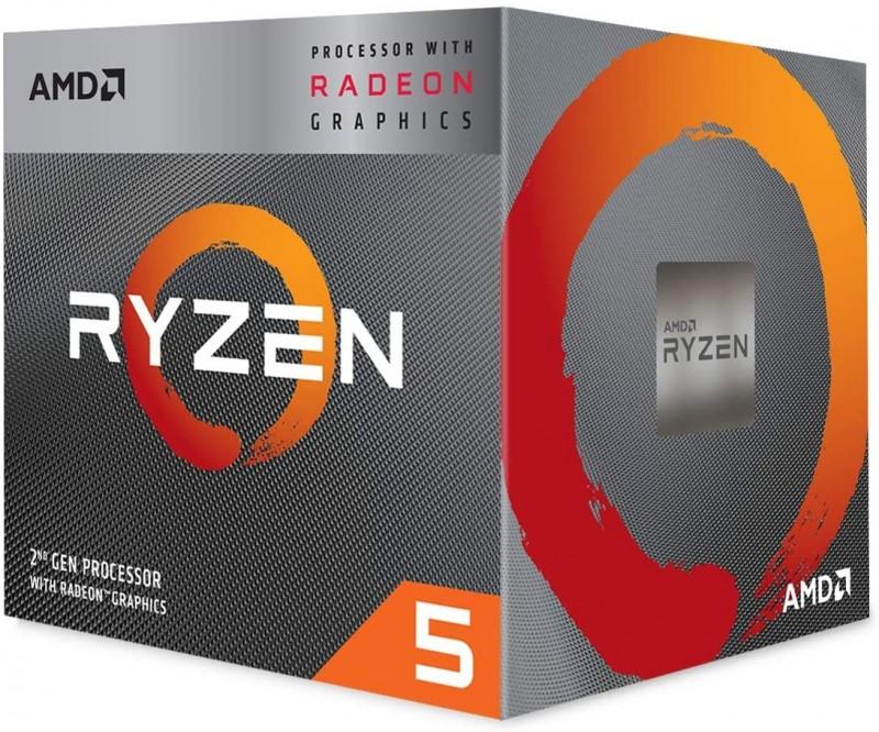 CPU AMD AM4 RYZEN 5 3400G 3.70 GHZ BOX