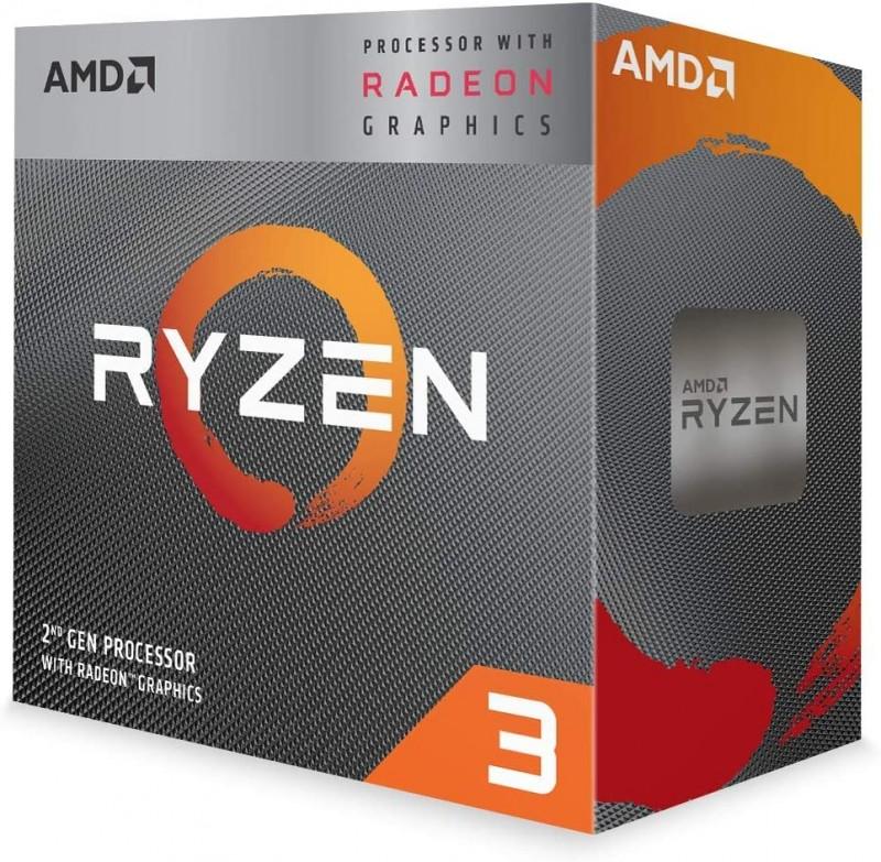 CPU AMD AM4 RYZEN 3 3200G 3.60 GHZ BOX MPC