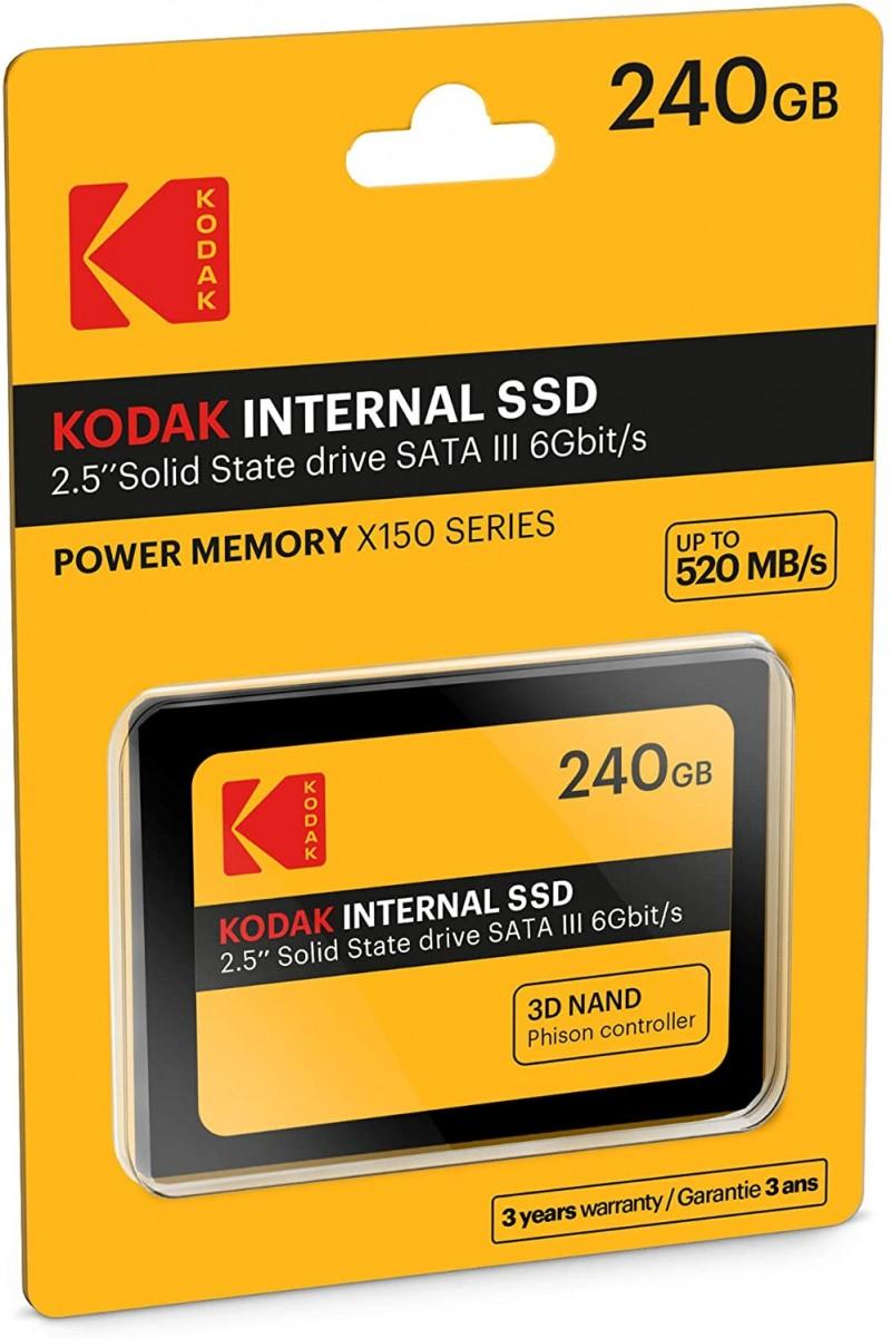 SSD SATA KODAK 240GB POWER MEMORY X150
