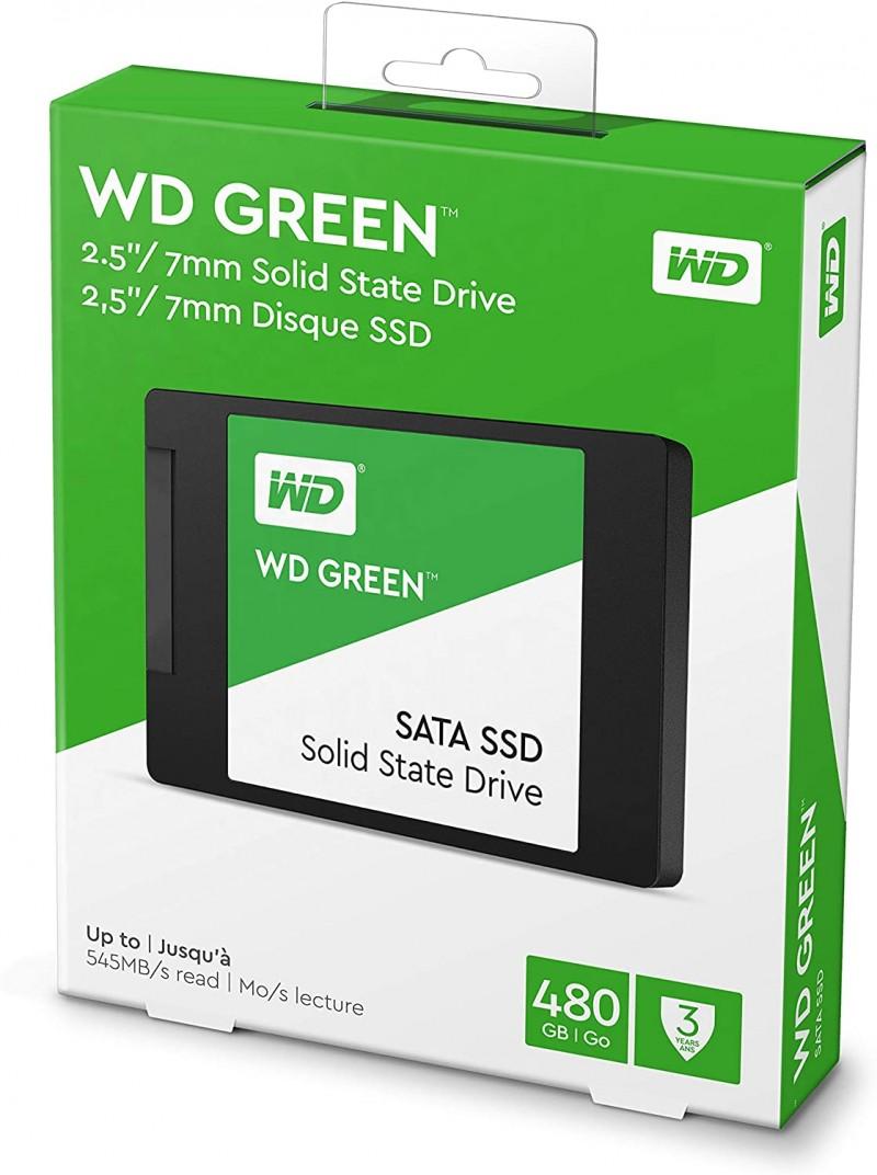 SSD SATA 480GB WESTERN DIGITAL GREEN