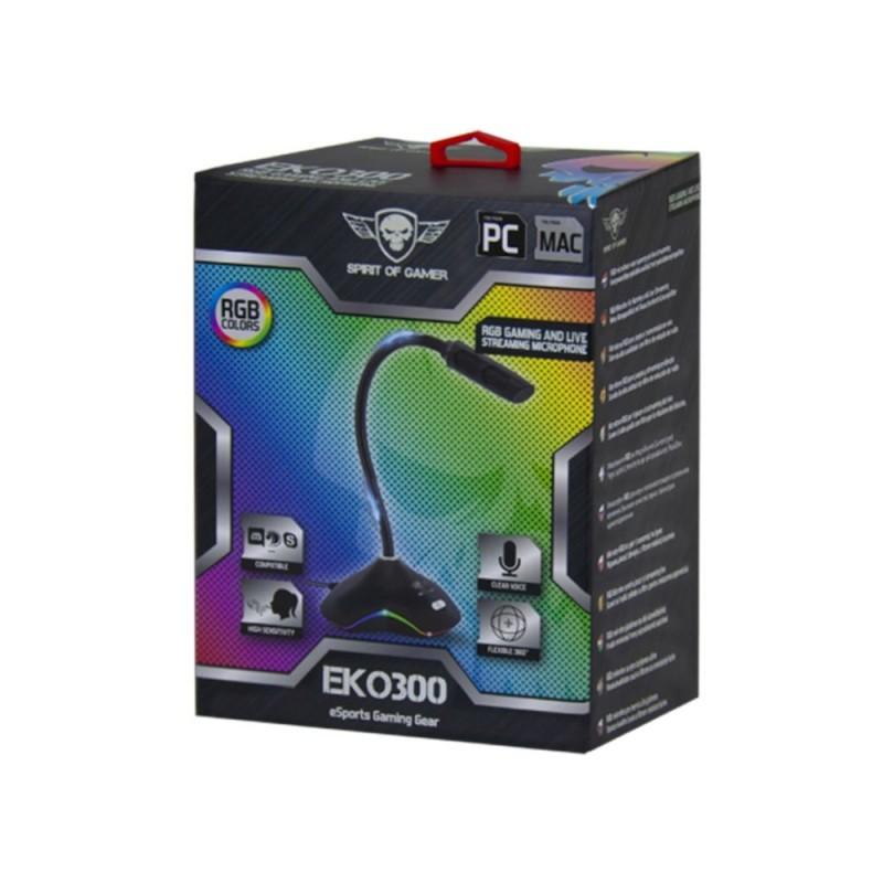 MICROPHONE SOG EKO 300 RGB