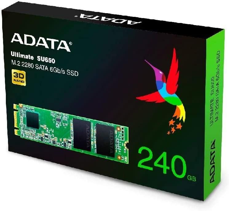 SSD M.2 240GB ADATA ULTIMATE SU650