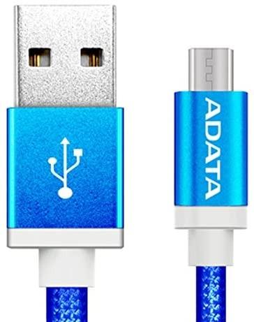 CABLE DATA MICRO USB 2 SIDES ADATA 100CMK-CRG ALUMINUM