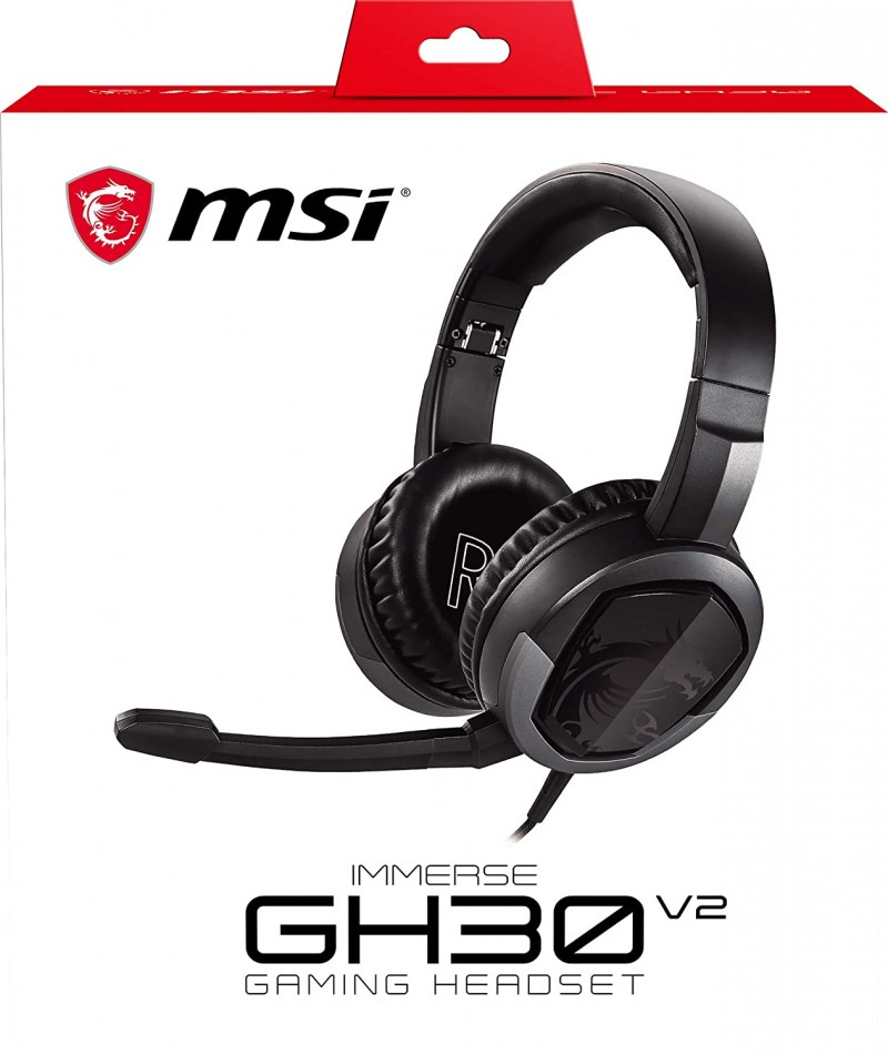 HEADSET MSI IMMERSE GH30 V2  GAMING