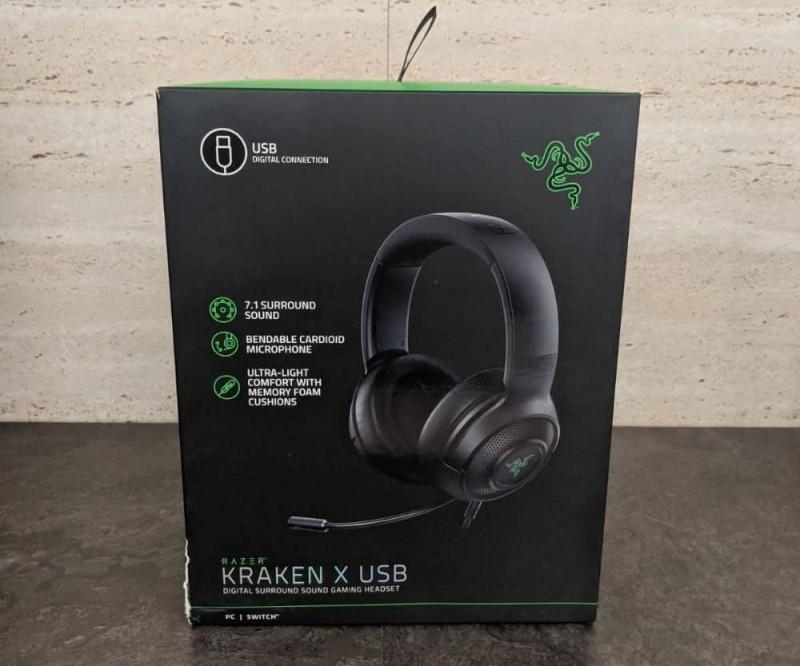 HEADSET RAZER KRAKEN X-USB 7.1