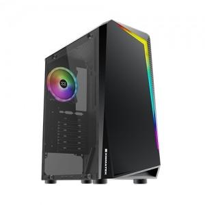CASE XIGMATEK VORTEX ATX X1 FAN RAINDOW RGB LIGHT