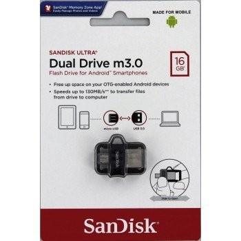 FLASH DISK SANDISK 16GB USB 3.0 OTG MICRO USB