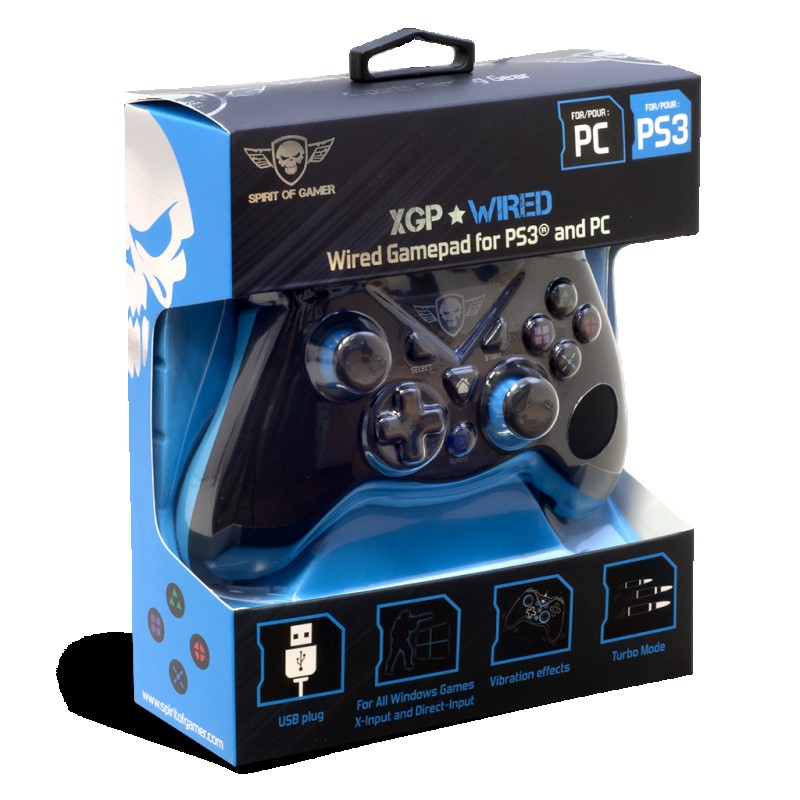 GAMEPAD SOG XGP WIRED PC / PS3
