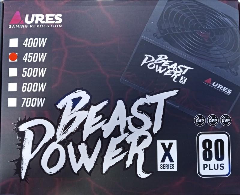 POWERSUPPLY AURES BEAST POWER X 450WTT 80+