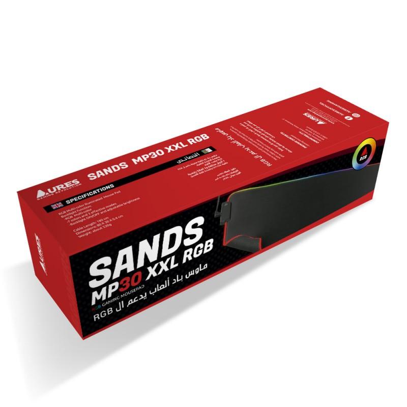 MOUSEPAD AURES SANDS MP30 XXL RGB