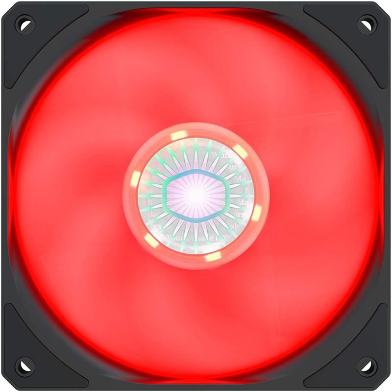 FAN ALEXANDRE WEISE 120MM RED LED