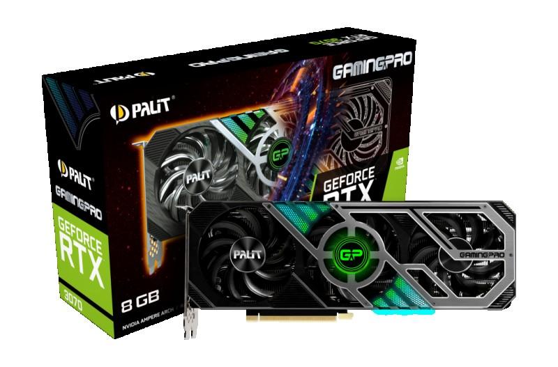 GPU NVIDIA PALIT RTX 3070 8GB GAMING PRO