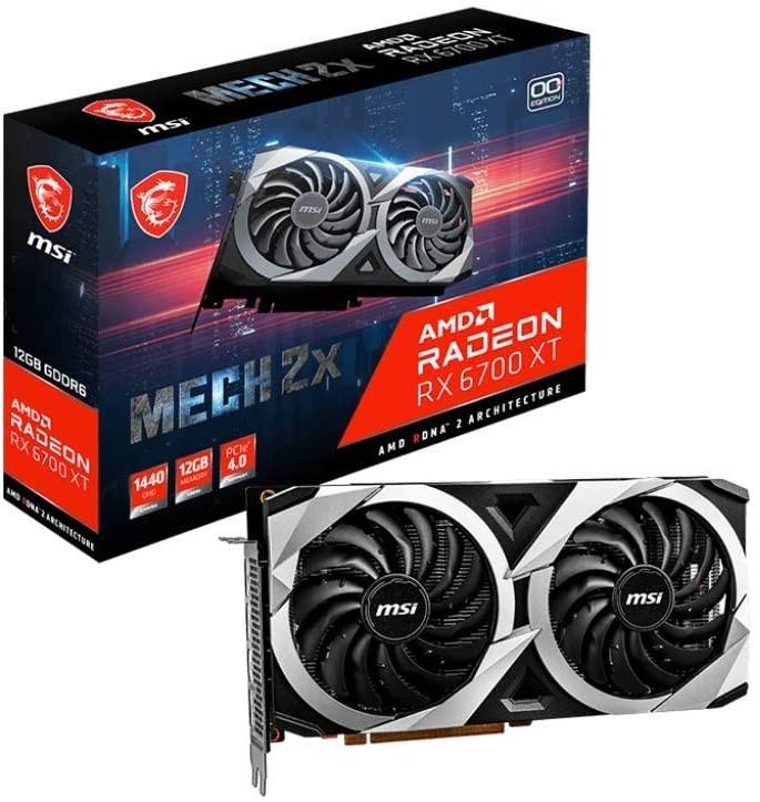 GPU AMD RADEON RX 6700XT MSI MECH X2 12GB
