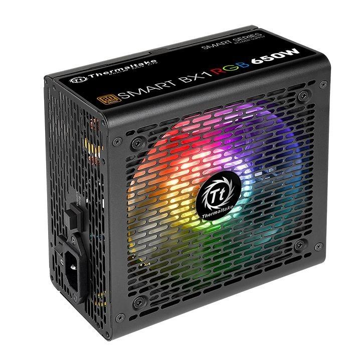 POWERSUPPLY THERMALTAKE 650WTT  BX1 80+BRZ RGB