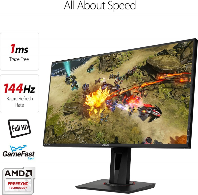 MONITOR ASUS VG278Q 144Hz 1ms 3D FULL HD