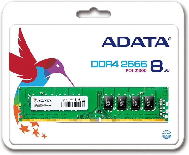RAM 8GO ADATA 2666MHZ CL19 SIMPLE