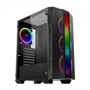 CASE XIGMATECK TRIDENT RAINBOW RGB X4 FANS