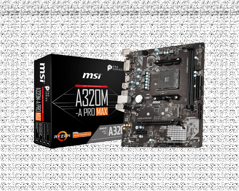 MOTHERBOARD AMD MSI A320M-APRO MAX