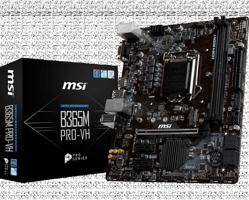 MOTHERBOARD MSI B365M PRO-VH
