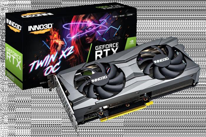 GPU NVIDIA INNO3D RTX 3060 12GB TWIN X2 OC