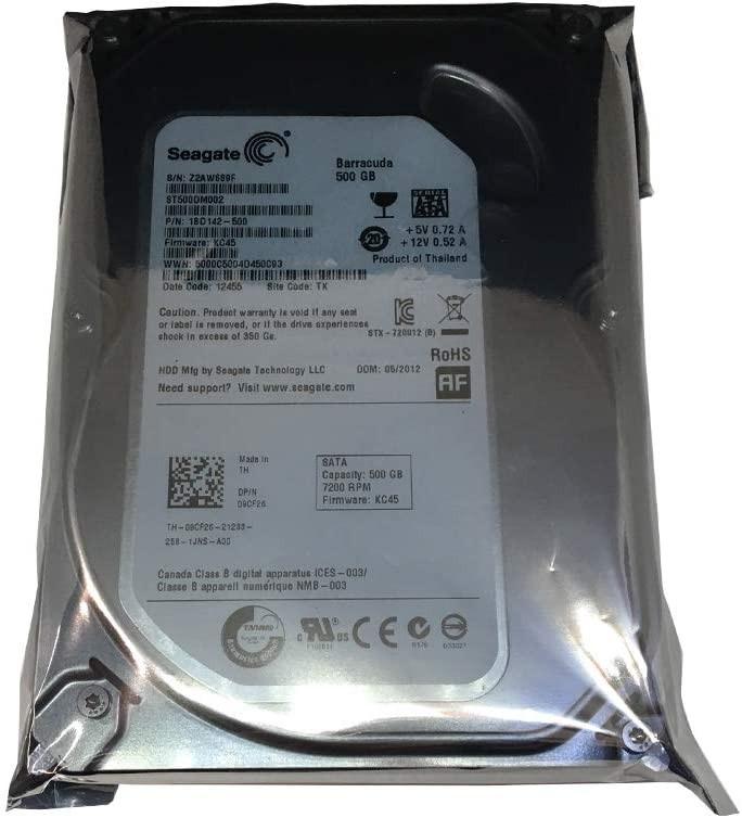 HDD 500GB SEAGATE 3.5 RE 7200RPM