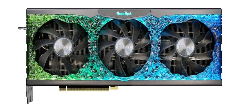 GPU NVIDIA PALIT RTX 3070TI 8GB GAME ROCK OC EDITION